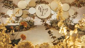 飞凌婚礼丨设计感满分 新人最爱