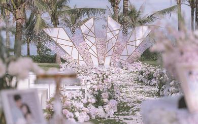 三亚草坪婚礼 | 太阳之光
