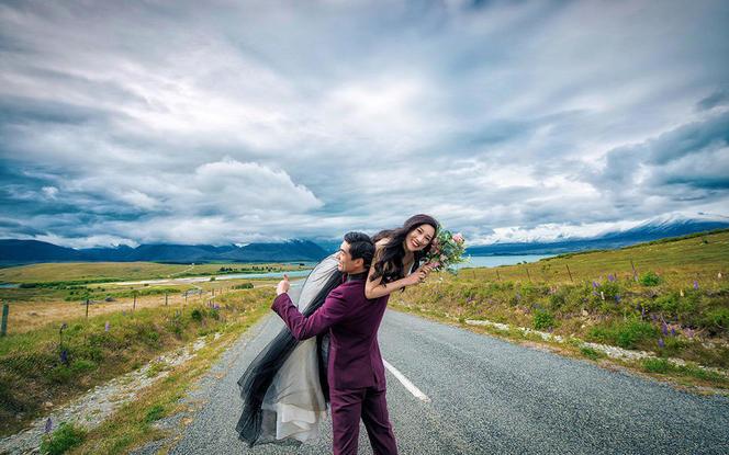 海外丨新西兰〔魅力皇后镇一线婚纱〕+一价全包