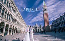 【威尼斯旅拍】七彩玫瑰婚纱照 叹息桥贡多拉圣马可