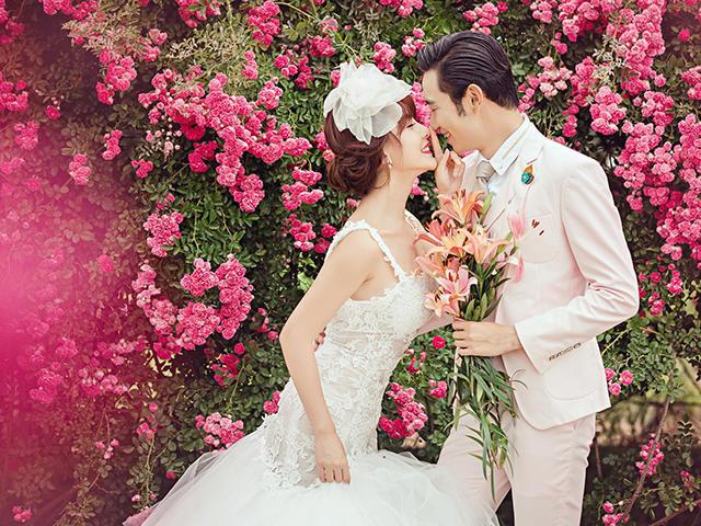 武汉天地人摄影婚纱套系——韩式婚纱摄影风