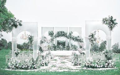 【萝亚婚礼】水晶户外婚礼《Find》