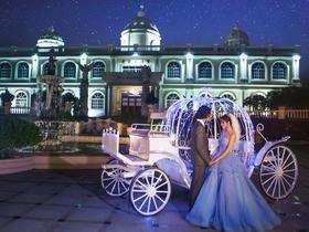 韩式唯美婚纱照——环球影城