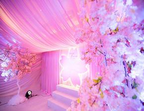 粉色樱花之King&Queen主题婚礼