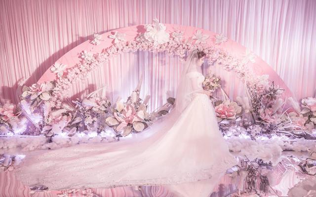 神话婚礼丨初恋的粉色系丨小清新