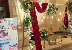 《6880婚礼》全鲜花包四大包布置送T台