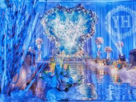 星空婚礼布置【旋木婚礼】#爱的王座#
