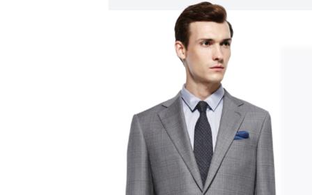 100%纯羊毛   轻奢定制西服三件套