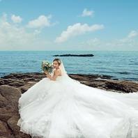 火兔婚纱摄影工作室豪华海景拍摄