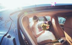 【皮壳車影像-婚礼拍摄】美美的日子。漂亮的新娘。