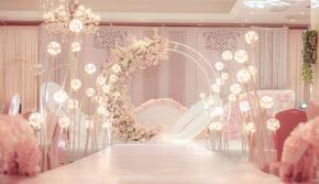 【安妮·热爱婚礼】《情书》 香槟色樱花主题
