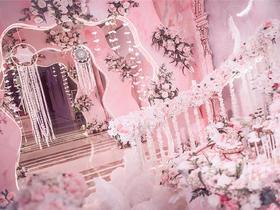 入梦之城--Dream Park粉色主题婚礼企划