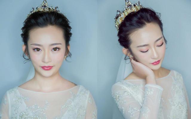 【帝安娜婚纱】超自然妆面