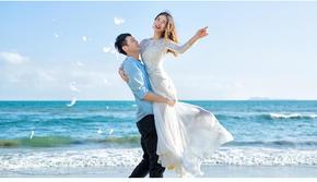 婚礼+婚纱 一站式目的地旅行婚礼
