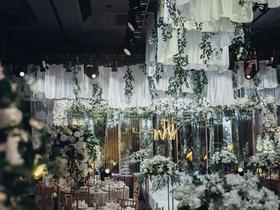 #爱尚婚礼策划#  白绿色系小清新风格
