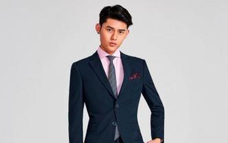 【超值特惠】标准意式深藏青色西装两件套