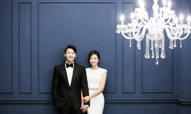 韩式内景婚纱