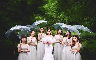 艾菲儿高级化妆师跟妆+婚纱礼服租赁套系