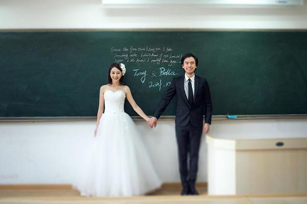 厦门艾美婚纱摄影《校园风》