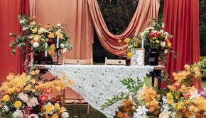 2020婚礼定制 小型婚礼之选 秋色系户外婚礼