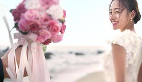 巴黎婚纱【 好评如潮】 十里银滩阳光海景基地