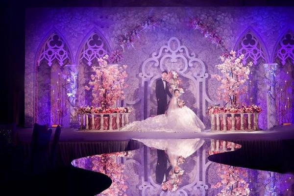 【6.13至尊豪庭】室内婚礼——城堡的爱