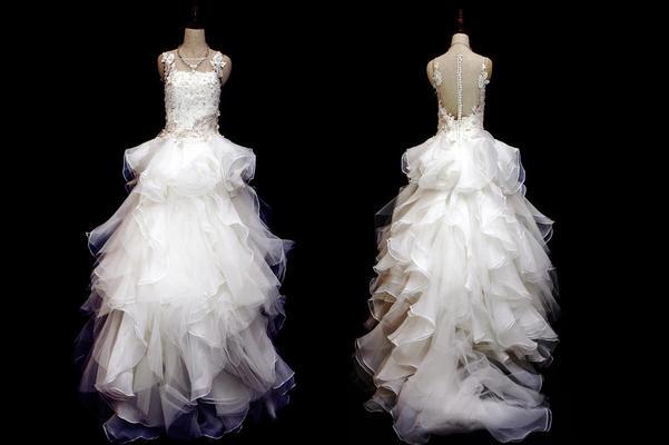花朵系列婚纱