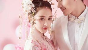 中式婚纱竟然可以这么仙?