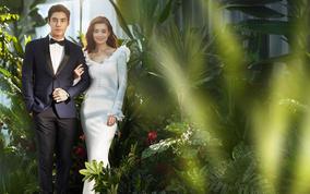 芭莎新娘超值套系赠全新韩式婚纱