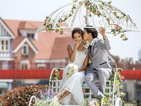 蜜恋婚纱摄影苏州小外滩塔桥风情欧式大气婚纱照