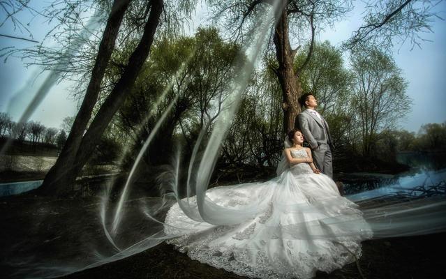 维罗纳婚纱摄影丨客片【梦幻森林】