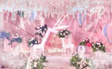 【仙境花园】粉色浪漫系婚礼