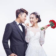 YIZEVISION 韩式纯色婚纱照