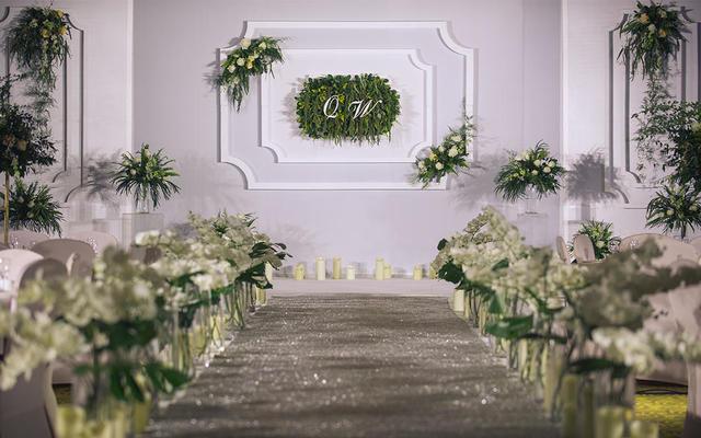 爱度婚礼优品(重庆)-简洁-白色、绿色
