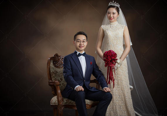 宫结婚肖像馆【宫主】热卖套系,不限风格