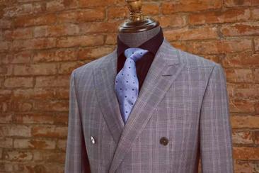 进口精纺羊毛面料西服套装