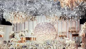 香槟色梦幻婚礼丨人员+音响+T台+灯光+布置A