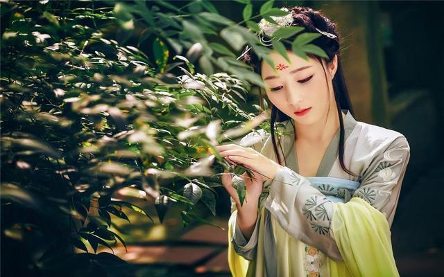 【汉服摄影】长乐未央-天一阁古风摄影-绿珠
