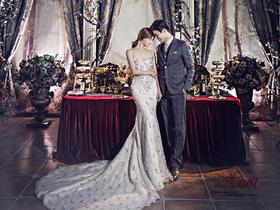 年度特惠 天冷更适合欧式复古内景婚纱照 还送品牌新婚纱