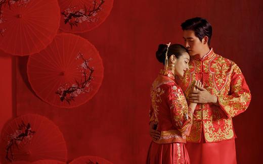 《传承中式I》慕色婚纱摄影,高定系列
