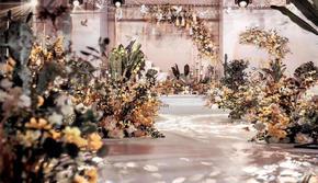 落日微醺|秋天里的森系婚礼