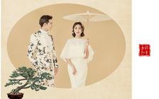 【品婚纱摄影】最炫中国风工笔画系列