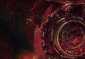 爱的漩涡|高端红色|轻奢微定|南通文峰饭店