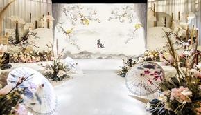 新中式-晓梦迷蝶-清平梦高端古风婚礼策划