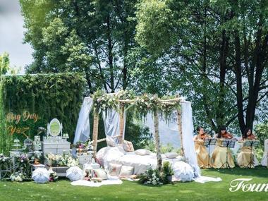 寻——小清新婚礼布置