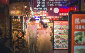 【翼视觉】街拍夜景之香香巷
