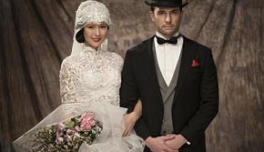 「经典复古」明星定制婚纱照系列