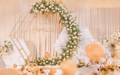  简悦婚礼  简约轻奢婚礼·含四大金刚·远洋宾馆