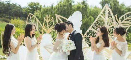绿谷户外婚礼