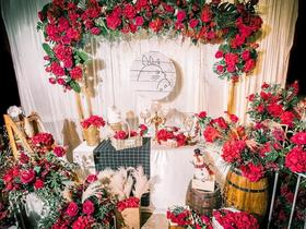 【素格婚礼】红绿色系 小型婚礼 温暖你的红色婚礼